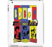 Radio Bebop iPad Case/Skin