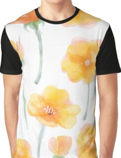 Patterns Everyday | Buttercup Field Graphic T-Shirt
