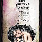 Handprints by Jenny Wood