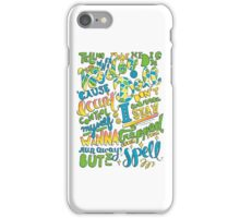 Voodoo Doll Lyrics iPhone Case/Skin