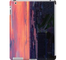 Rotterdam Sunset Panorama, from Euromast iPad Case/Skin