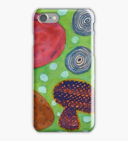 Still Life Pattern with Onions  iPhone Case/Skin