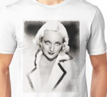 Carole Lombard Hollywood Actress Unisex T-Shirt