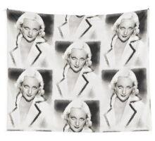 Carole Lombard Hollywood Actress Wall Tapestry