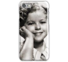 Shirley Temple Vintage Actress iPhone Case/Skin
