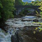 River Moriston, Invermoriston, Highland, Scotland by fotosic