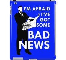 Bad News Barrett  iPad Case/Skin