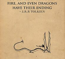 The Hobbit // Tolkien Minimalist Design by peachy peachy