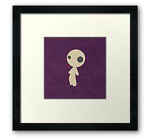 Voodo doll Framed Print
