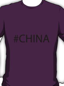 #China Black T-Shirt
