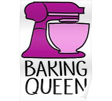 Baking Queen  Poster
