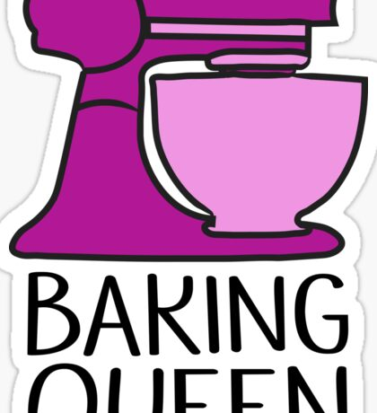 Baking Queen  Sticker