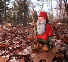 St. Nicholas Out for an Autumn Walk by Benjamin Tatrow