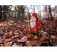 St. Nicholas Out for an Autumn Walk Photographic Print