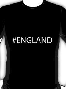#England White T-Shirt
