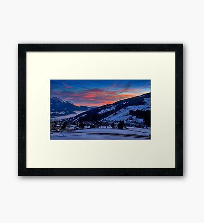 Austrian Dawn Framed Print