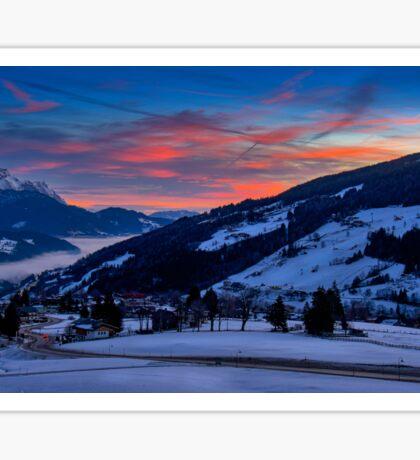 Austrian Dawn Sticker
