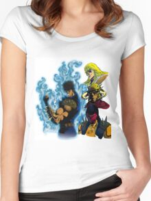Fist of The North Star Women's Fitted Scoop T-Shirt