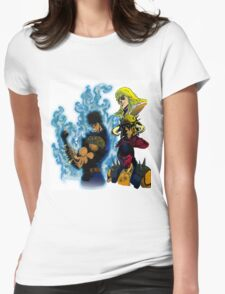 Fist of The North Star Womens Fitted T-Shirt