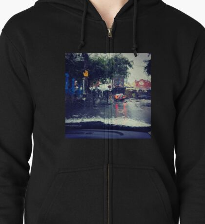 Swan Street Downpour Zipped Hoodie
