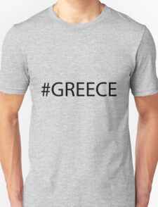 #Greece Black T-Shirt