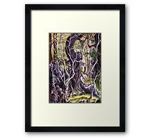 Heist of the Wizard's Staff Framed Print