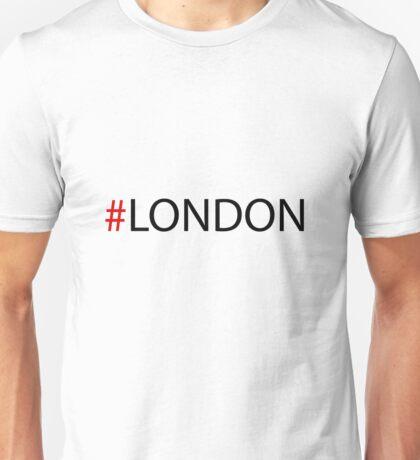 #London Black Unisex T-Shirt