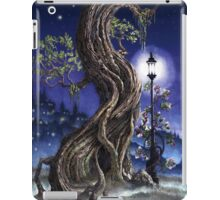 Sylvia and Her Lamp At Dusk iPad Case/Skin