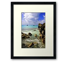 Church Bay Framed Print