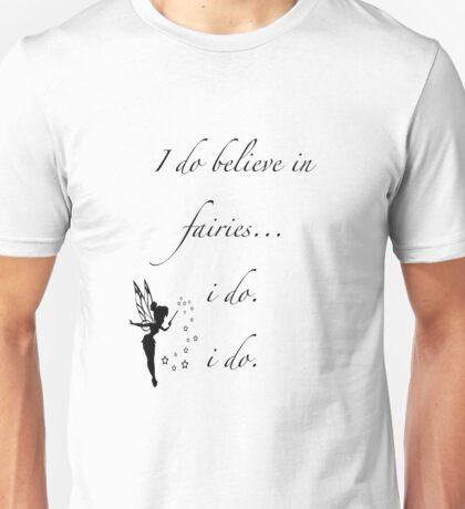 I do believe in fairies/ Peterpan Unisex T-Shirt