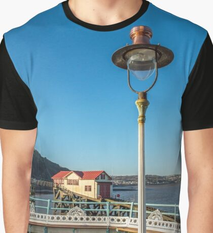 The Lifeboat Station and the Lamp Graphic T-Shirt