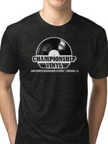 High Fidelity Championship Vinyl Tri-blend T-Shirt