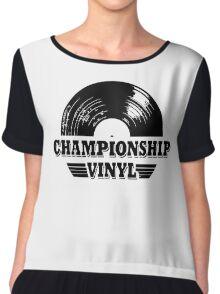 High Fidelity Championship Vinyl Chiffon Top
