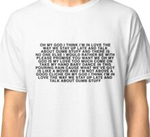 dumb stuff tee Classic T-Shirt