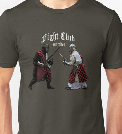 Medieval Knight Fight Club Member t-shirt Unisex T-Shirt