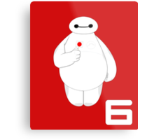 Disney - Big Hero 6 - BAYMAX Metal Print