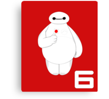 Disney - Big Hero 6 - BAYMAX Canvas Print