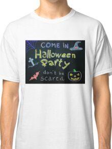 Halloween Party invitation Classic T-Shirt