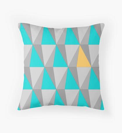 Losanges géométriques - Geometric Diamonds Throw Pillow