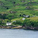 Loch Carron, Strome Castle, Stromeferry, Scotland by fotosic