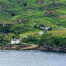 Loch Carron, Strome Castle, Stromeferry, Scotland by fotosic