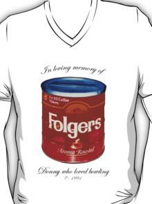 In Loving Memory of Donny Who Loved Bowling pop art variant 1 T-Shirt