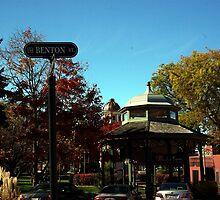 Benton Street Woodstock, IL by jclegge