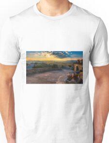 The view from Cueva de San Pascual near sunset Unisex T-Shirt