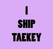 I ship TaeKey by supalurve