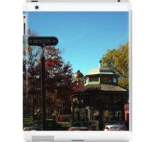 Benton Street Woodstock, IL iPad Case/Skin