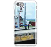 Workmen Panama Canal iPhone Case/Skin