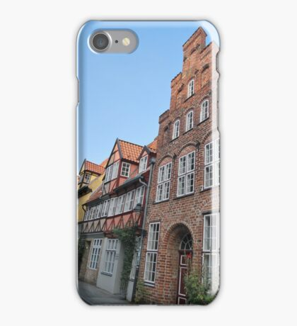 Lübeck - façade [1] iPhone Case/Skin
