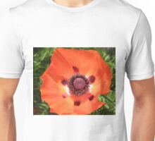 Poppy field flower bud Unisex T-Shirt