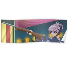 Shoot em up: anime girl style! Poster